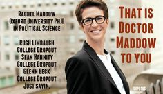 Ha! She is easily my favorite political pundit on the air.