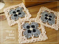 Violets by Nah's Knit Factory. No pattern