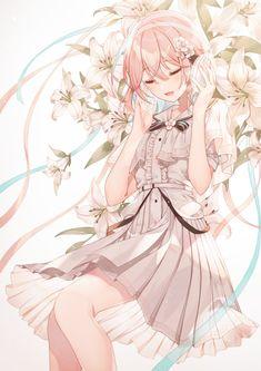 Anime Girl Pink, Manga Anime Girl, Cool Anime Girl, Pretty Anime Girl, Anime Girl Drawings, Beautiful Anime Girl, Anime Artwork, Kawaii Anime Girl, Pink Hair Anime