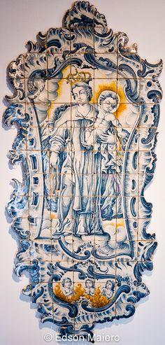 Registo com Nossa Senhora do Carmo, Coimbra, 1770-1780.
