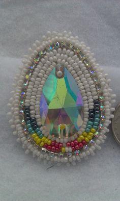 native american beaded earrings by Jackiesbeadsnthings on Etsy, $35.00