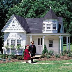 Features: Doorbell; Skylight; Hardwood Floors; Loft; Textured Painting; Door Knocker Options: Children's Play Furniture Enlarge your playhouse, choose your own colors, & more! You may also incorporate play activities such as swings, slides, climbing walls, tunnels, etc. to make your playhouse an active as well as creative play space. Consult with a Lilliput design specialist …