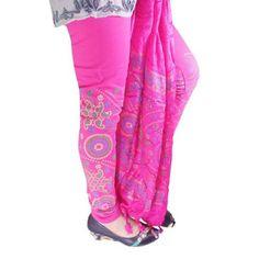 Buy Fashion LifeStyle Pink Cotton Legging by Fashion LifeStyle, on Paytm, Price: Rs.489?utm_medium=pintrest