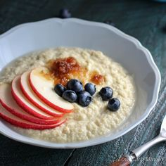 Coconut Flour Porridge via @lowcarbmaven