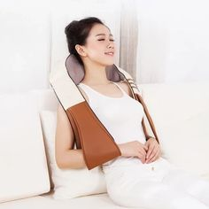 16-Head Neck & Shoulder Infrared 4D Shiatsu Kneading Massager – Deal Smoker Facial Steaming, Pore Cleansing, Hair Regrowth, Head And Neck, Laser Hair Removal, Shoulder, Gadgets, Gadget