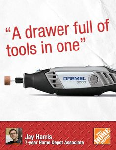 """""""A Dremel is an awesome gift for that guy or gal who likes to work on small home improvements or crafts,"""" says Jay. Customers who have Dremel sets tell us they can't imagine life without a Dremel. 
