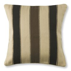 Antiqued Blanket Striped Pillow Cover, 22