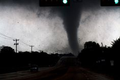 Parrish Ruiz de Velasco. Lancaster, Texas. April 3, 2012.     It was like any other spring day in North Texas — hot, humid and the weather was ripe for a classic Midwest storm. Within hours, 13 confirmed tornadoes touched down across the Dallas-Fort Worth area.