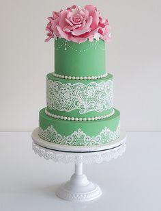 Cake: COCO CAKES; Unique and Elegant Wedding Cake Ideas
