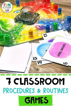 Are you ready to head back to school? It's time to start thinking about your classroom management strategy this year. I am sharing 7 of my favorite classroom procedure games that are sure to keep your students engaged and motivated. These classroom management games and activities will help build a classroom community from the start. Students get to learn all about teamwork and the expectations of the class. These back to school activities are sure to make it on your first week lesson plans. Classroom Routines And Procedures, Classroom Incentives, Get To Know You Activities, First Day Of School Activities, Management Games, Classroom Management Strategies, Student Rewards, Classroom Community, Teacher Hacks