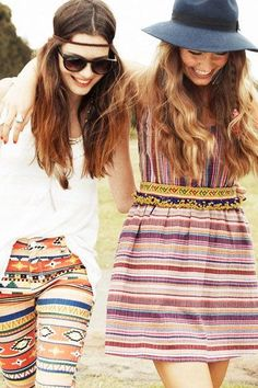 friends long hair