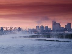 ohio river of louisville kentucky #pretty