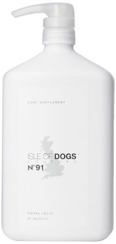 Isle of Dogs Coature No. 91 Royal Jelly Coat Supplement for Dogs with thin or shedding coats, 1 liter * For more information, visit image link.