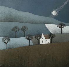 Following The Moon by natasha newton | the blackbird sings, via Flickr