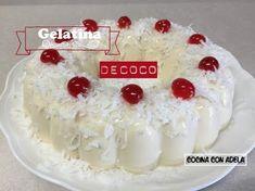 GELATINA MOSAYCO COMBINADA DE FRESA / molde # 8 de alto 4 inch - YouTube