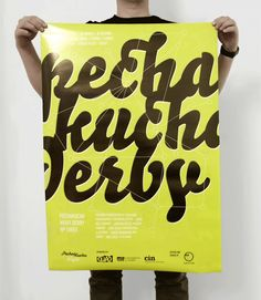 PechaKucha Night Derby #3 Poster