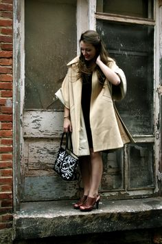 #vintage swing coat on @Threadflip - I have a vintage leopard print swing coat- may bust it out now!