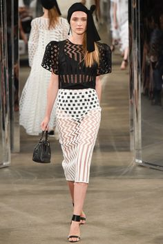 Milly spring 2015 ready to wear collection.