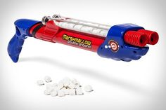 Double Barrel Marshmallow Shooter how bout this for a camp fire!