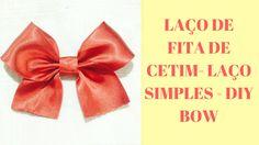 Nova, Youtube, Diy, Satin Ribbons, Ribbon Bows, Lace, Simple, Bricolage, Do It Yourself
