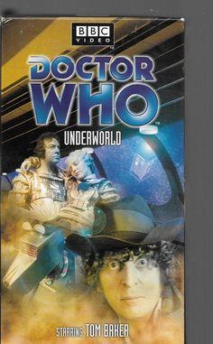 Doctor Who Underworld. Vhs Tom Baker