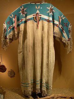 Lakota woman's dress