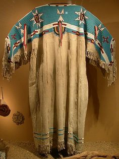 Lakota womans dress