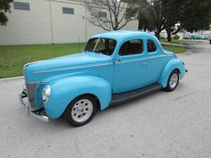 $36,900 - 1940 FORD DELUXE COUPE ALL STEEL  1940 Ford Deluxe Coupe,CA all steel body,New Crate 350 eng ,Auto 700 r 4 tran,Heidts Mustang 2 front end, 4 wheel disc Brake,all new drivetrain,PS,AC,tilt wheel,every piece of the ext crome and stainless is new,older paint and interior ,great cruise night car.must see and drive,might trade up or down. For more details please visit: http://goo.gl/PY3gqh