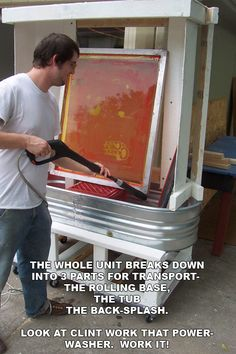 how to build a lightbox for screen printing