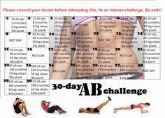 30 Day Ab Challenge                                                                                                                                                      Más