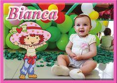 Aniversário de 1 ano de Bianca, com tema da Turma da Moranguinho