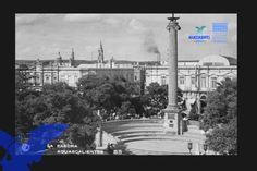 Columna y Exedra de la plaza principal (foto AGM)