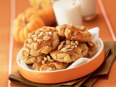 Taffy Apple Cookies...peanut butter cookie with dried apples and ...
