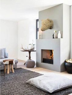 64 Smart Scandinavian Fireplace Ideas Makeover for Your Living Room - Page 41 of 66 Living Room Carpet, Home Living Room, Living Room Designs, Living Room Furniture, Home Furniture, Living Room Decor, Furniture Cleaning, Luxury Furniture, Living Area