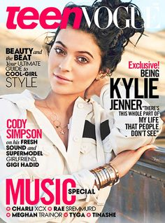 May 2015- Kylie Jenner Teen Vogue Magazine Cover