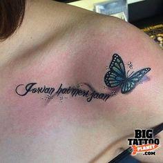 Sarah Cooper - Shoulder Tattoo | Big Tattoo Planet