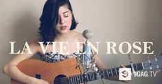 "This Girl's Cover Of ""La Vie En Rose"" Will Remind You Of The Lovely Scene In ""How I Met Your Mother"" - 9GAG.tv"