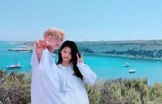 bts jungkook and twice Tzuyu Bts Twice, Kpop Couples, We Get Married, Tzuyu Twice, Korean Couple, Moon Lovers, Kpop Aesthetic, Saranghae, Bts Jungkook