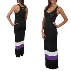 '47 Brand Baltimore Ravens Ladies Maxi Dress - Black