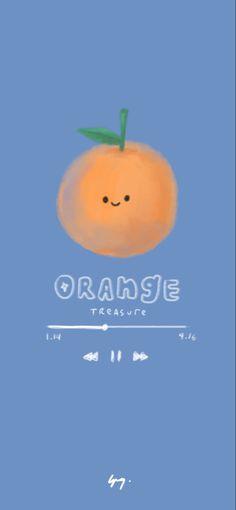 Kawaii Wallpaper, Cartoon Wallpaper, Iphone Wallpaper, You Are My Treasure, Photo Scan, Orange Wallpaper, Anime Scenery Wallpaper, Tough Day, Line Friends