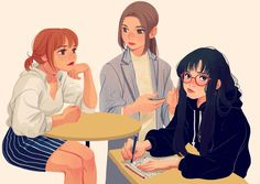 "9,035 Likes, 51 Comments - mjj (@mjj_nz) on Instagram: ""drawing in the cafe #girls #character #style"""