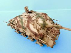 Weathering a Jagdpanzer IV