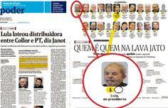 BLOG DO IRINEU MESSIAS: Folha inventa que Lula é chefe de quadrilha e acus...