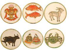 12 zodiac signs, Japan