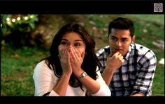 first movie date nila Baste and Alex.. haba ng hair naman n Alex #dreamdad