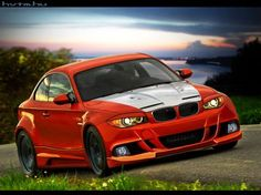 BMW 1 M Coupe by blackdoggdesign