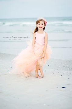 Beauty and the Beach — Wilmington NC — Child Photographer