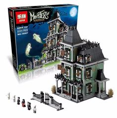LEPIN 16007 Monster Fighters – Haunted House | Movies | LepinBrick.com-LepinBrick.com