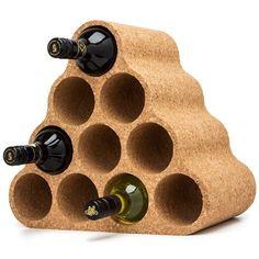 Carlo Rossini cork wine rack.
