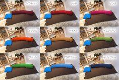 全15色の豊富なカラー展開 ヨギボー インテリア ソファ